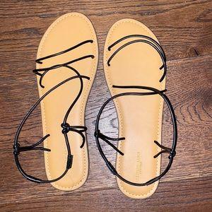 Brand new American eagle straps sandals